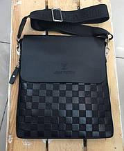 Мужская сумка Louis Vuitton, черная Луи Виттон PR4