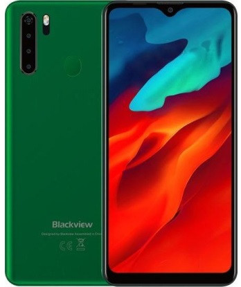 "Смартфон Blackview A80 Pro 4/64Gb Green, 2sim, экран 6.49"" IPS, 8 ядер, 13+2/8Мп, 4680mAh, 4G (LTE)"