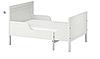 Раздвижная подростковая кровать (мин. длина 137 см максимальная 207 см) белая