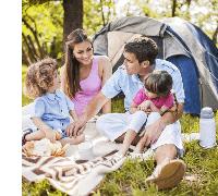отдых на природе с детьми, фото Sevenmart