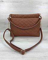 Женская сумка-клатч модная рыжая 2020