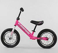 Беговел детский Черный - Детский велобег CORSO