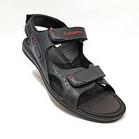 Мужские кожаные сандалии в стиле Columbia отличного качества