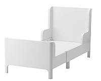 Раздвижная подростковая кровать беля (139 см или 209 см ) с основой, фото 1