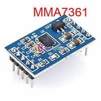 Датчик угла наклона трехосевой акселерометр ускорения Модуль Arduino MMA7361