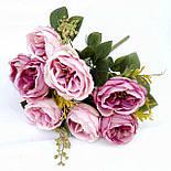 Букет искусственной  роза Остина 46 см, фото 5