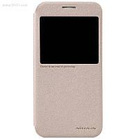 Чехол Nillkin Sparkle Leather Case для Samsung Galaxy S6 (G920) Shampaign Gold