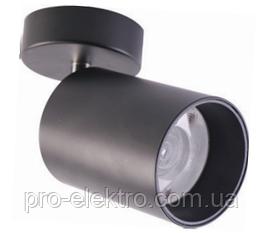 Светодиодный накладной потолочный LED светильник, спот ZL4018124 12W 880Lm black Z-Light