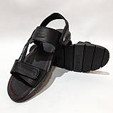 41,43,44,45 р Чоловічі шкіряні сандалі відмінної якості, фото 3