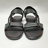 41,43,44,45 р Чоловічі шкіряні сандалі відмінної якості, фото 2