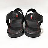 41,43,44,45 р Чоловічі шкіряні сандалі відмінної якості, фото 8