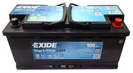 EXIDE 6СТ-105 АзЕ AGM EK1050 Автомобильный аккумулятор