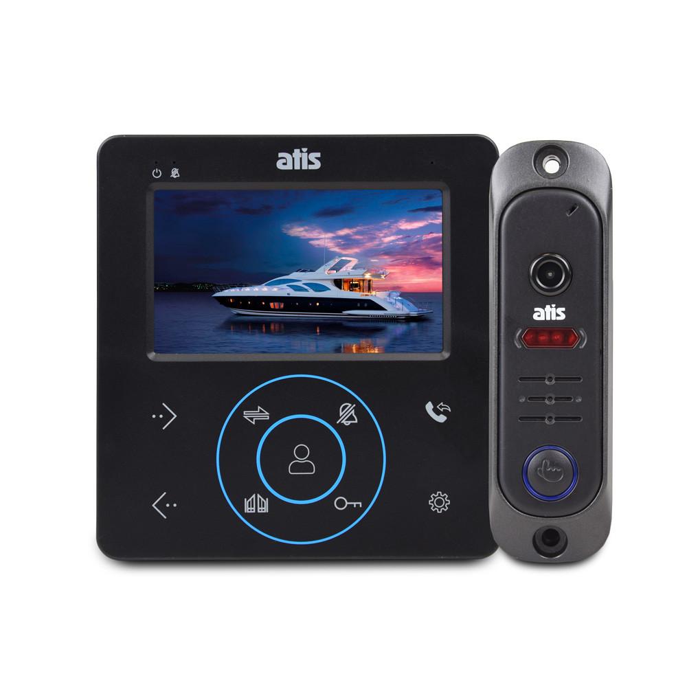 Комплект видеодомофона ATIS AD-480 B Kit box