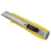 Нож 18 мм сегментированое Лезвие Stanley 155мм FatMax металический (12шт мерч упаковка)