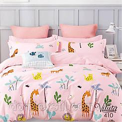 Постельное белье сатиновое в кроватку