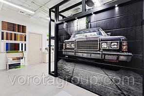 Гаражные ворота Alutech Prestige 3000 ширина * 2500 высота