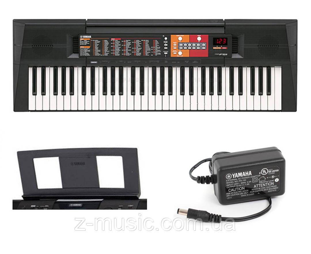 Синтезатор Yamaha PSR-F51 + пюпітр і адаптер живлення у подарунок