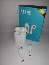 Бездротові навушники TWS i11 Bluetooth SuperBass сенсорні, фото 3
