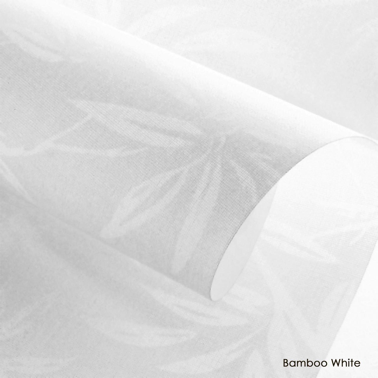 Тканевые роллеты Bamboo White