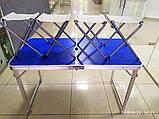Стол для пикника складной усиленный, фото 2