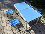 Стол для пикника складной усиленный, фото 4