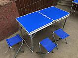 Стол для пикника складной усиленный, фото 5