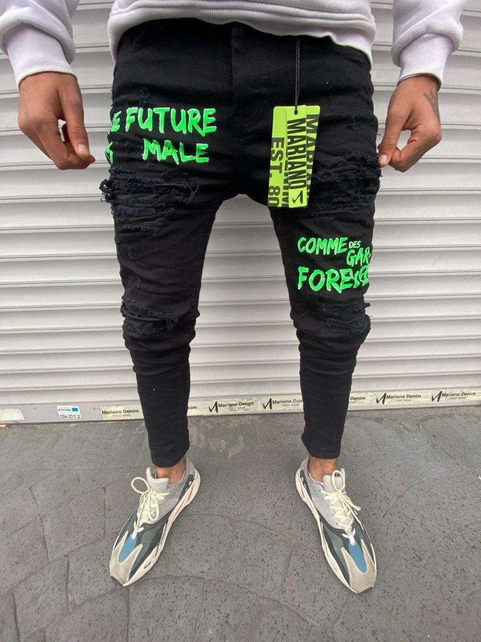 Чоловічі джинси Mariano 1035 black