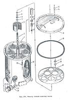 Сальник фильтра тонкой очистки масла 3Д100.63.086