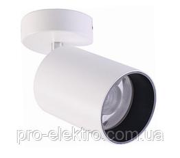 Светодиодный накладной потолочный LED светильник, спот ZL4018124 12W 880Lm White Z-Light