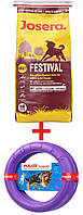 АКЦИЯ! Сухой корм Josera Festival гипоаллергенный корм для собак 15КГ + пуллер 28см