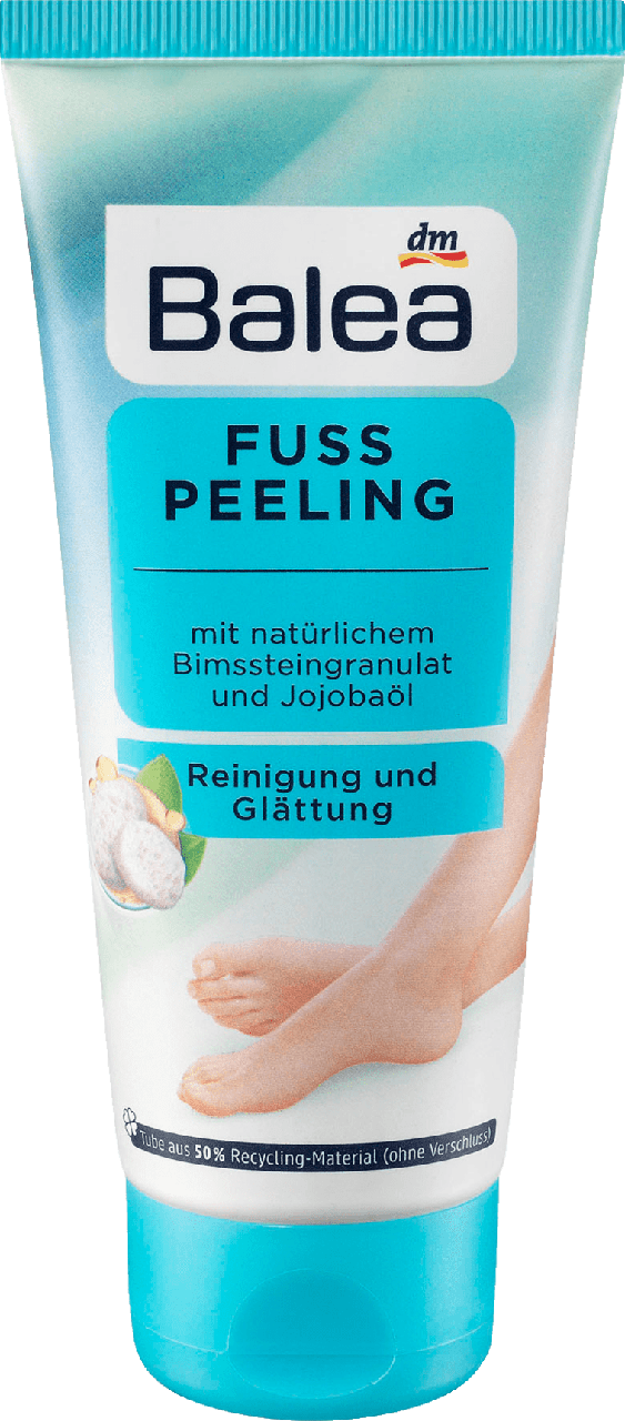 Пилинг ног Balea Fußpeeling, 100 ml
