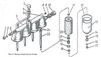 Сальник фильтра тонкой очистки топлива 3Д100.63.086