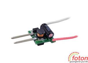 Импульсный драйвер светодиода LD 1x3W 12V
