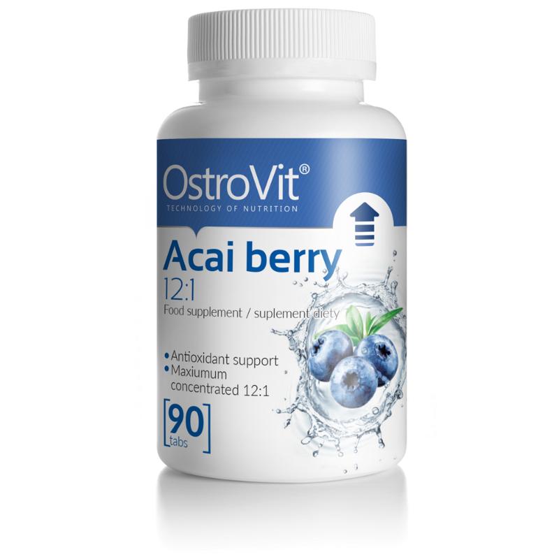 Антиоксидант OstroVit Acai berry 12:1 90 tabs (ягода асаї)
