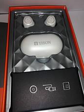 Навушники Bluetooth Yison TWS-T3 White, фото 2