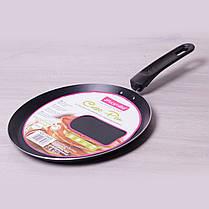 Сковорода блинная Kamille 24см с антипригарным покрытием для индукции, фото 2