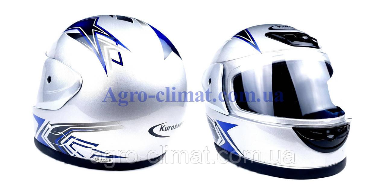 Шлем для мотоцикла Hel-Met 802 серый