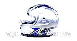 Шлем для мотоцикла Hel-Met 802 серый, фото 2