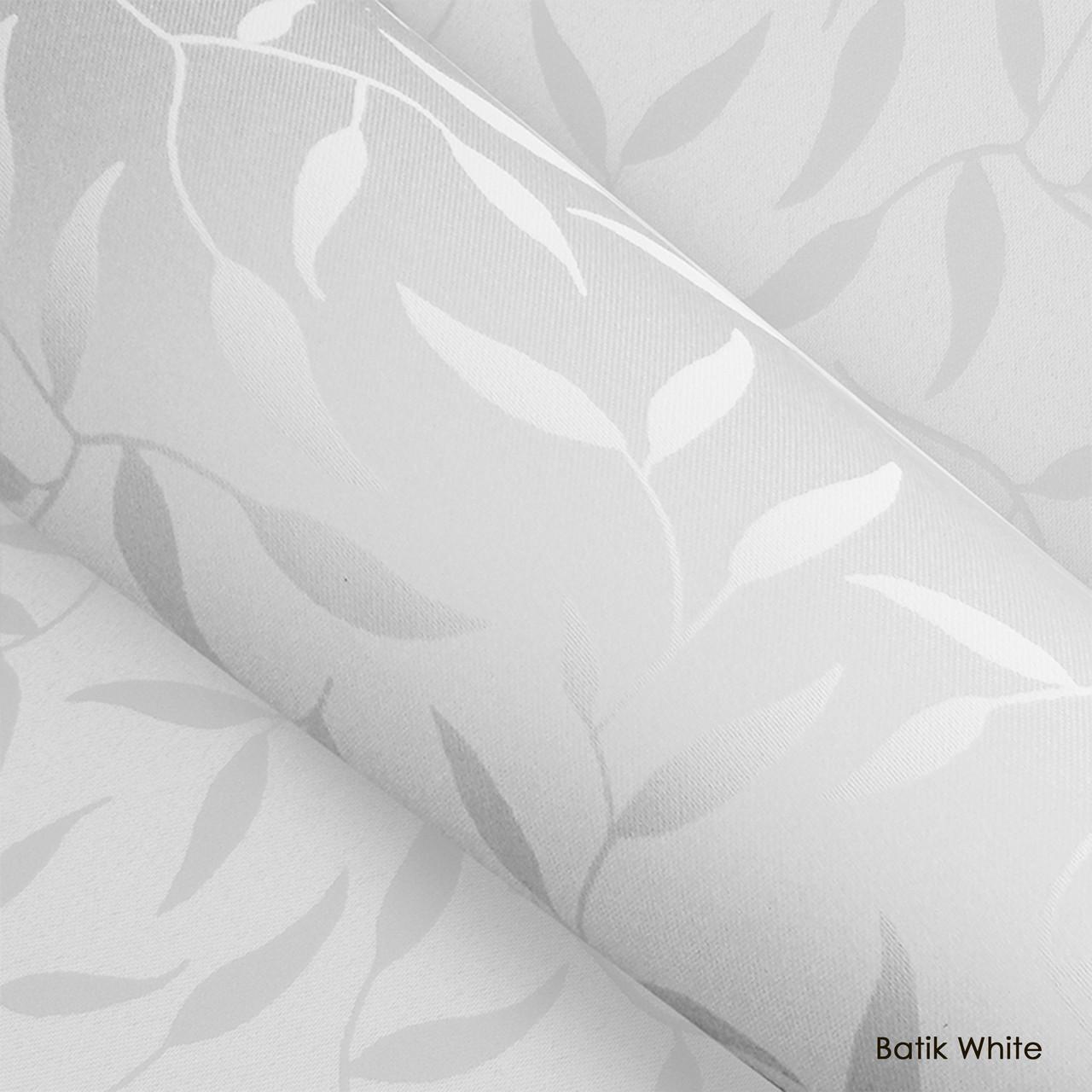 Тканевые роллеты Batik White