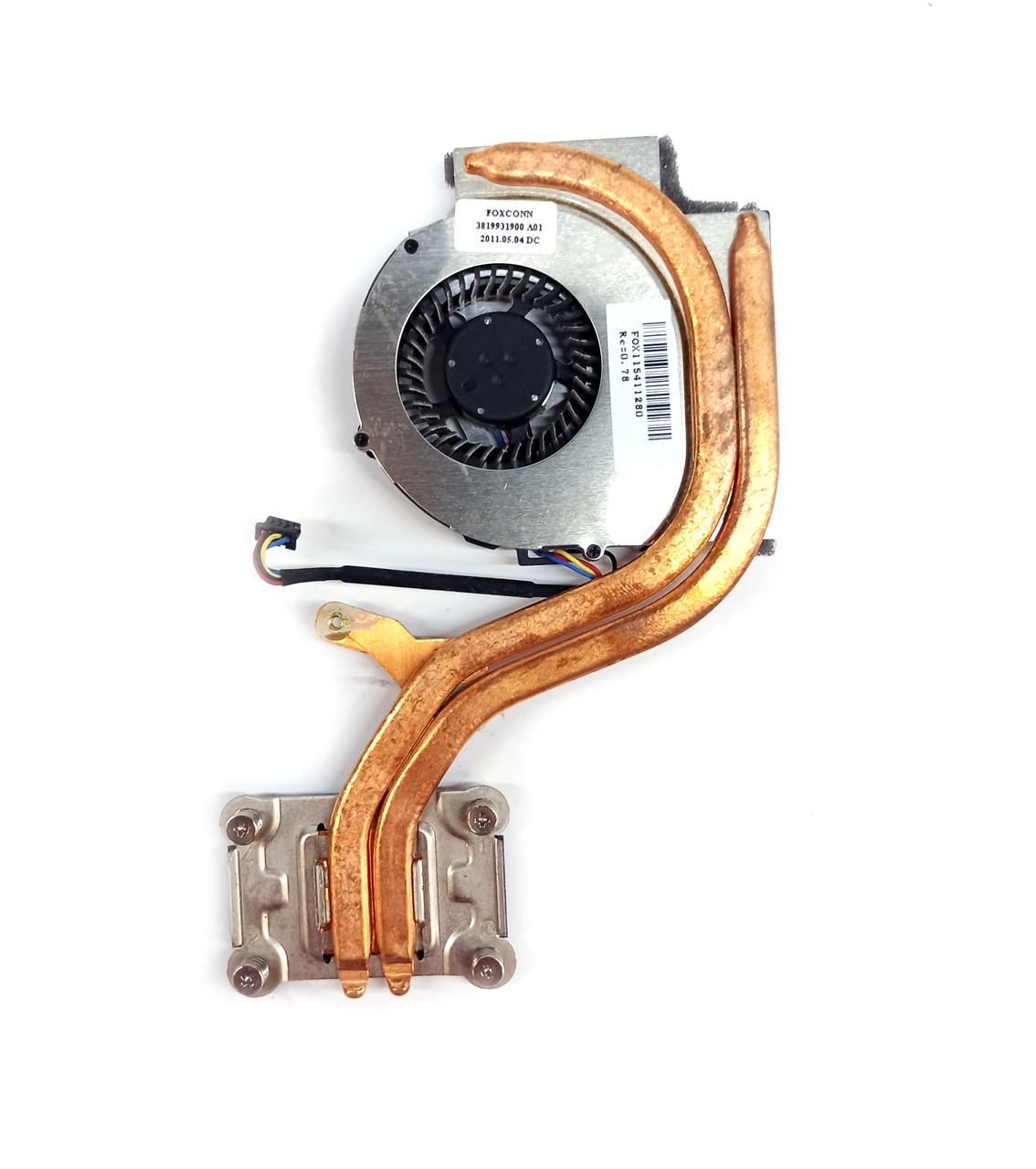 Охлаждение (вентилятор + радиатор) (04W0435) для ноутбука Lenovo ThinkPad X220