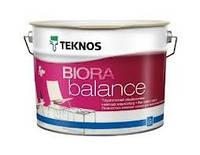 Текнос Биора Баланс, 9л Б1 - матовая краска для стен и потолков