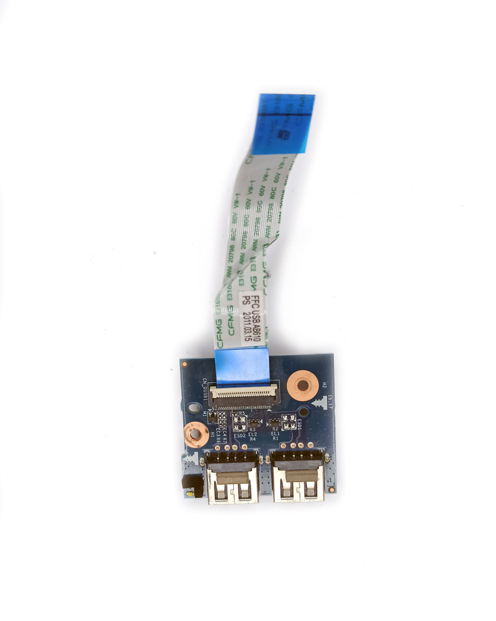 Плата расширения (USB) + шлейф (40GAB630S) для ноутбука HP dv6-6060eo
