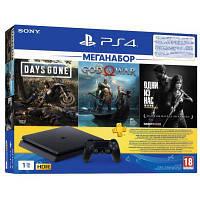 Ігрова консоль SONY PlayStation 4 1ТВ в комплекті з 3 іграми (9382102)