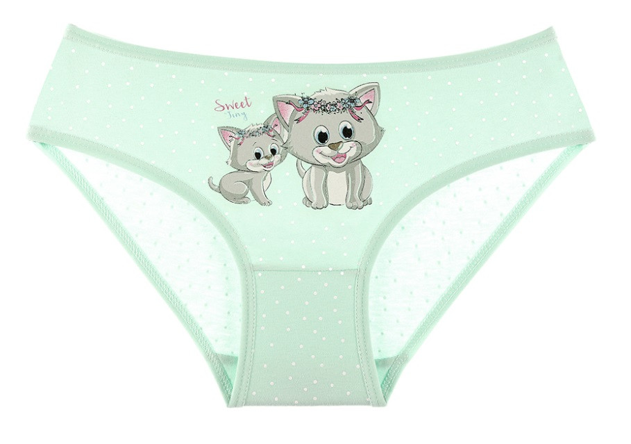 """Трусики дитячі для дівчинки """"Веселі кошенята"""", 4-5 років (ріст 110-116)"""