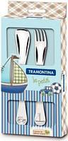 Набор столовых приборов для детей Tramontina Baby Le Petit blue 2 предмета (66973/010)