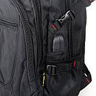 Рюкзак міський Power In Eavas 312 з кишенею для ноутбука чорний, фото 2