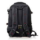Рюкзак міський Power In Eavas 312 з кишенею для ноутбука чорний, фото 3