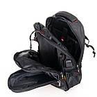 Рюкзак міський Power In Eavas 312 з кишенею для ноутбука чорний, фото 4