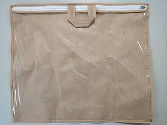 Упаковка для домашнего текстиля, подушки 40х46 см. ПВХ 90 Бежевый