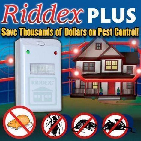 Электронный отпугиватель грызунов Riddex Pest, Отпугиватели насекомых Отпугиватели и уничтожители насекомых